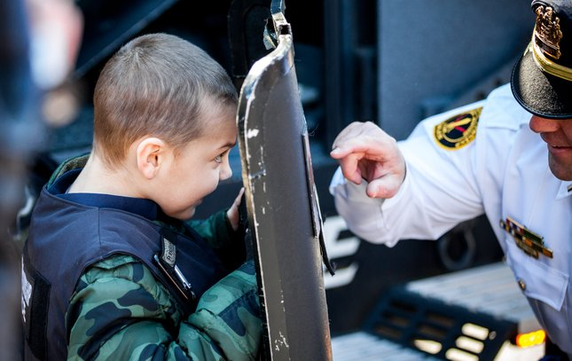 Carroll - Cop For A Day in Gloucester Township