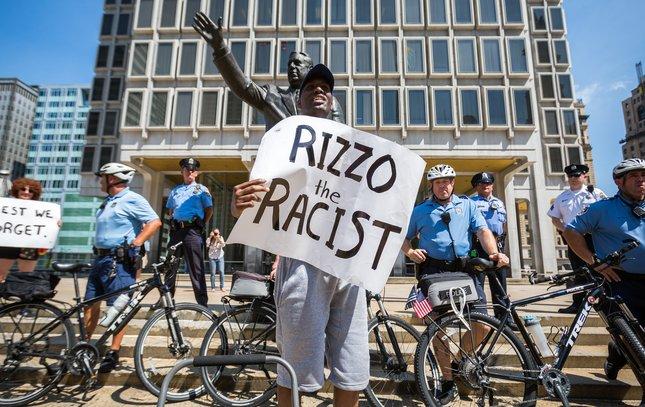 Carroll - Frank Rizzo Statue Protest Asa Khalif
