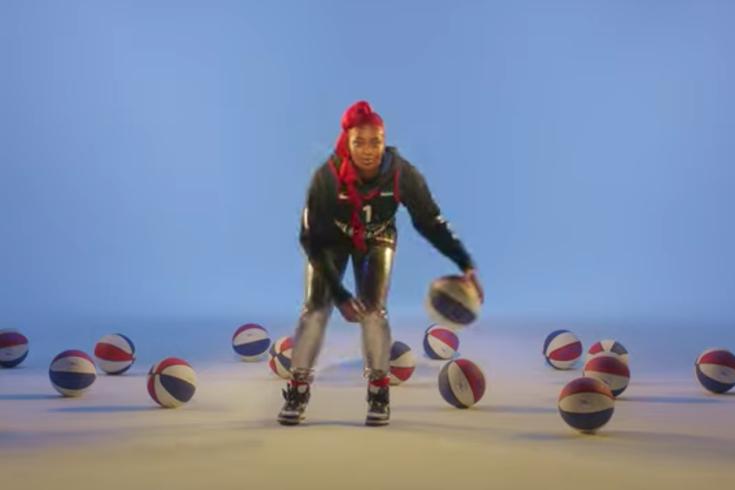 Tierra Whack Sixers music video