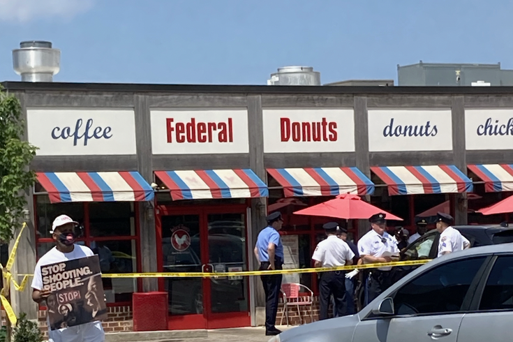 Federal Donuts Shooting