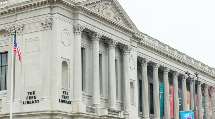 Philly Free Library bus tour