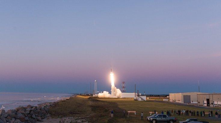 Rocket launch Philly region