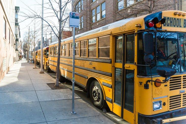 School District of Philadelphia electric buses