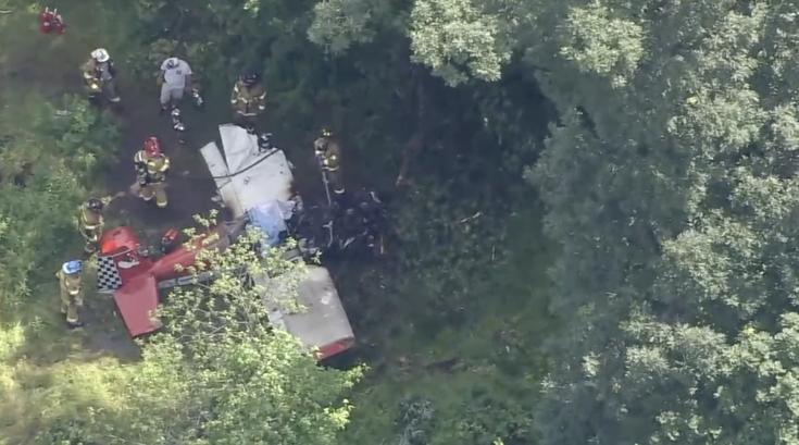 Plane crash Doylestown