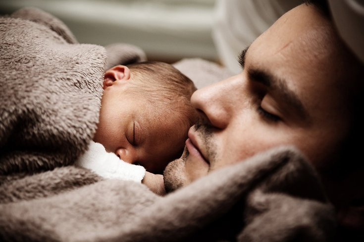 Baby Dad Sleep 06232019