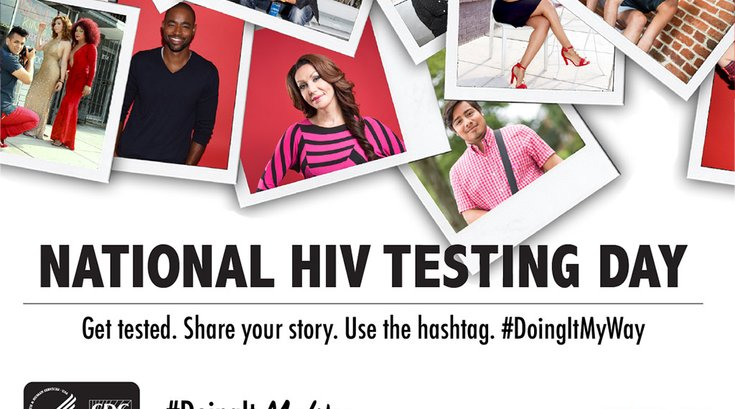 National HIV Test Day promo