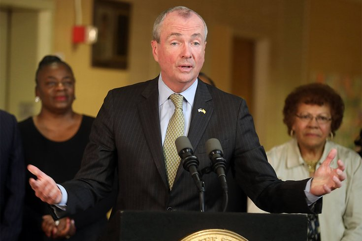 Gov. Phil Murphy marijuana leagalization