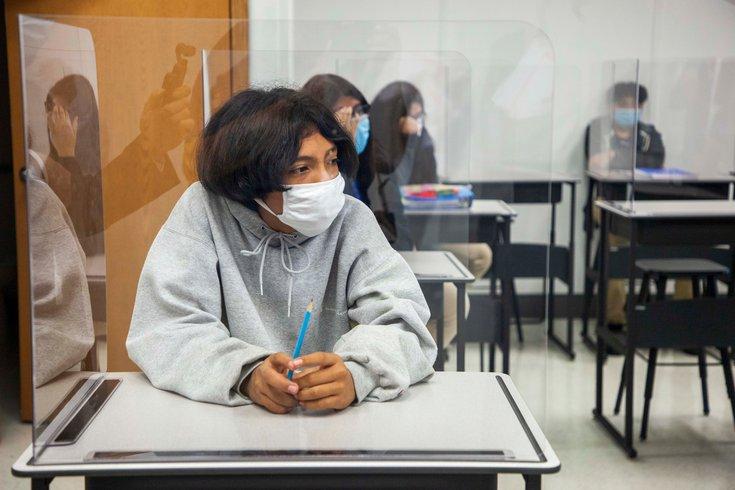 New Jersey schools masks