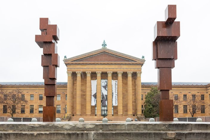 Carroll - Stand installation Philadelphia Museum of Art