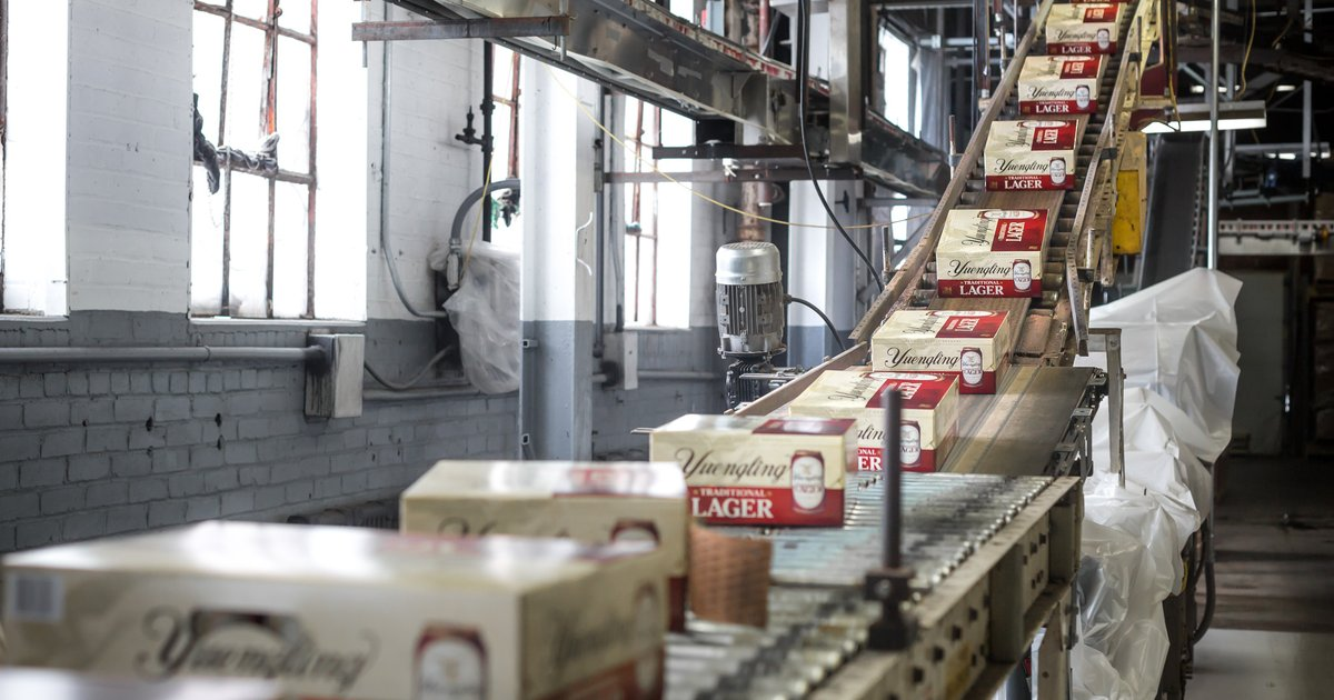 Yuengling named top-selling craft brewery in U.S.; Victory, Troegs make top 30