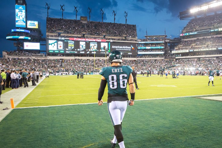 Carroll - Philadelphia Eagles Game Zach Ertz