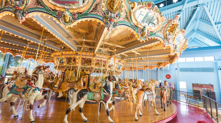 Carroll - Carousel at Please Touch Museum