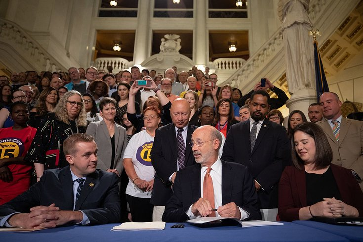Tom Wolf Health Insurance signing 07032019