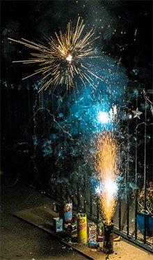 Backyard Fireworks 07042019