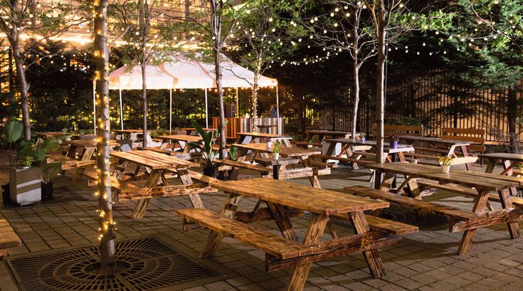 Center City Sips - Uptown Beer Garden