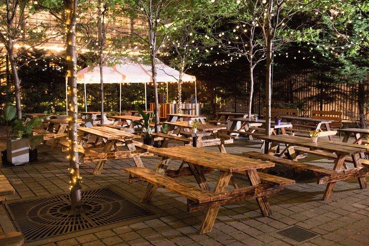 Center City Sips - Uptown Beer Garden