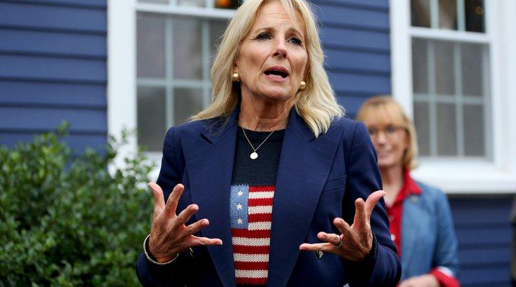 Jill Biden July 4th speech Philadelphia