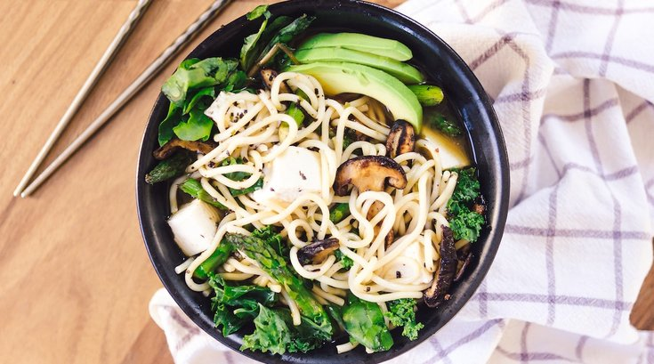 salad ramen recipe