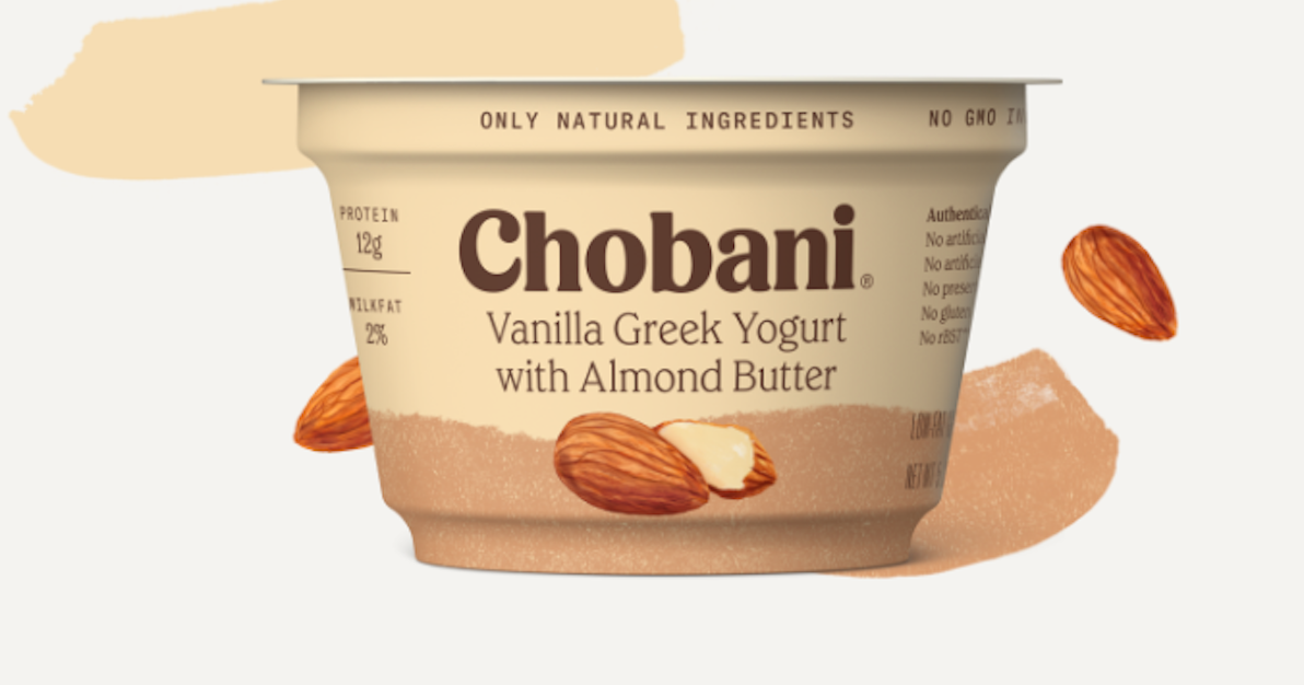 These nut butter-filled Greek yogurts