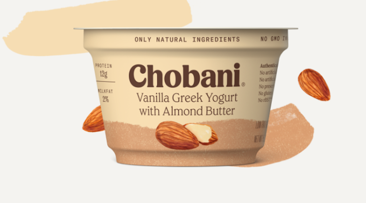 chobani nut butter greek yogurt