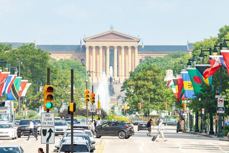 Benjamin Franklin Parkway redesign