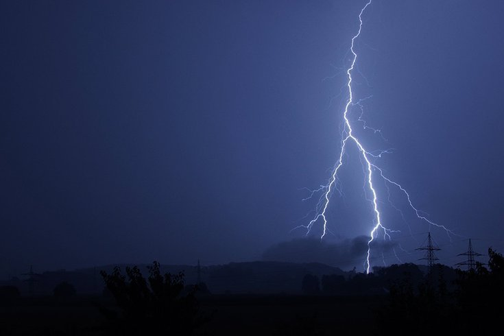 Lightning Lackawanna County