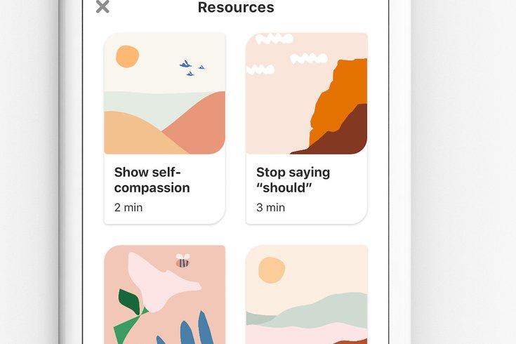pinterest interactive mental health exercises