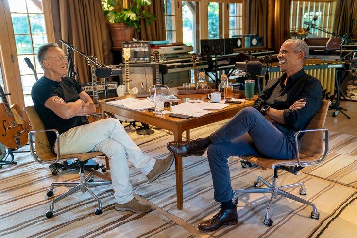 Bruce Springsteen Barack Obama Renegades book