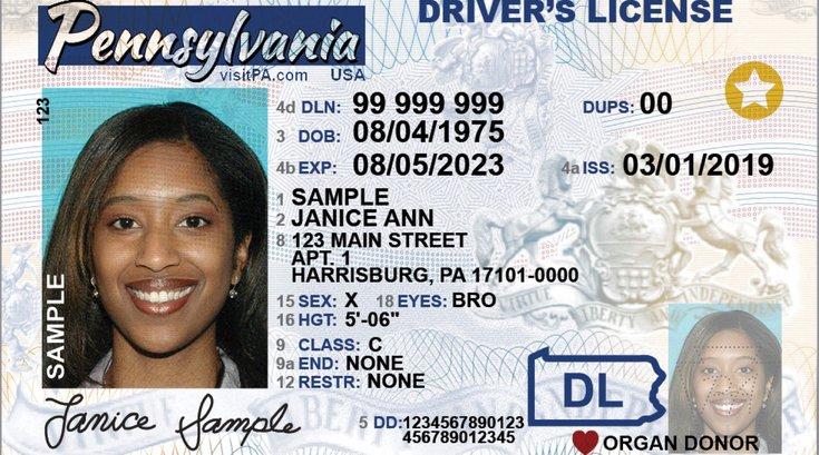 PennDOT driver's license