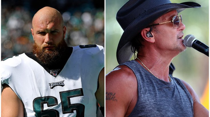 Lane Johnson Tim McGraw