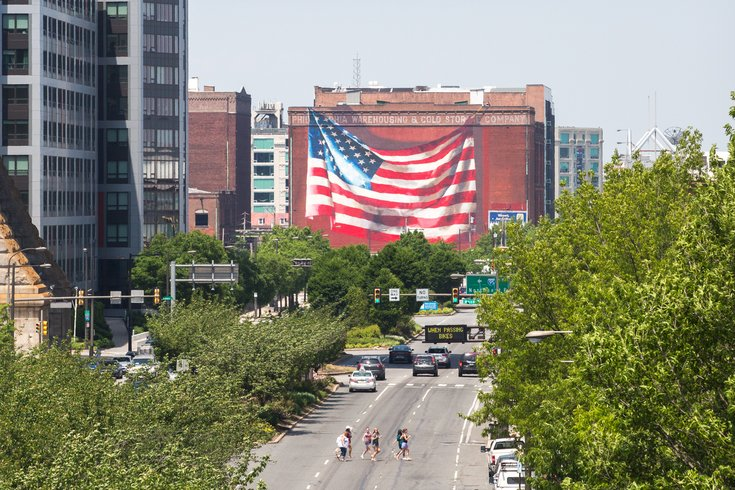 Carroll - American Flag Mural