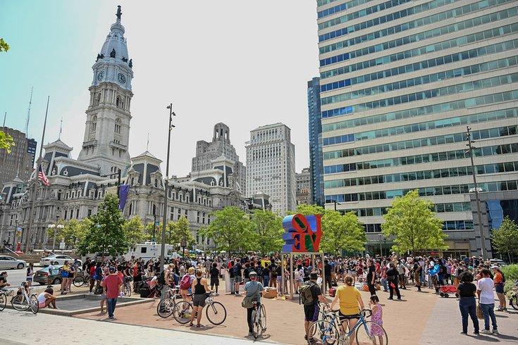 Philadelphia student union protest