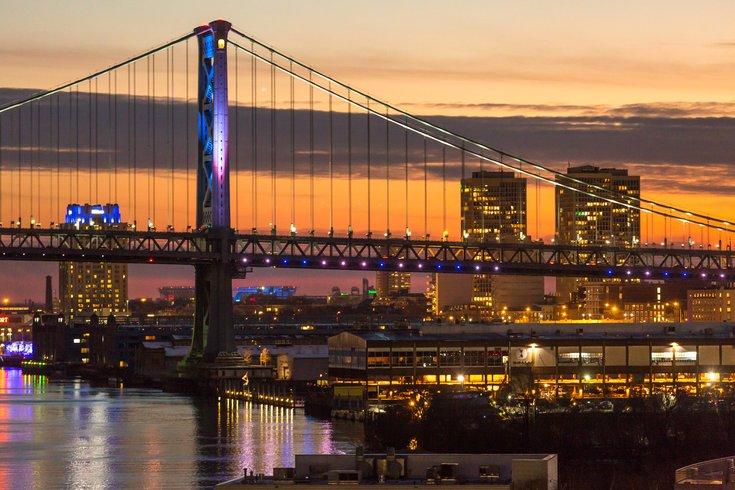 Stock_Carroll - Benjamin Franklin Bridge and Delaware River Waterfront