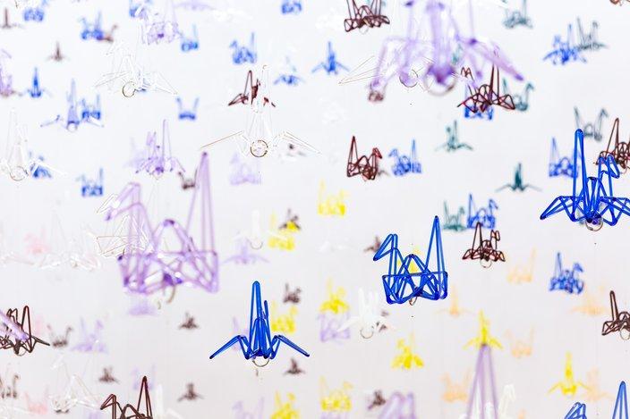 Carroll - Germ Glass 1000 Glass Cranes