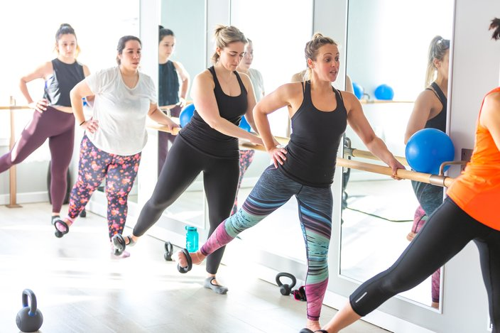 Carroll - Kettlebarre at Wall Cycling Studio