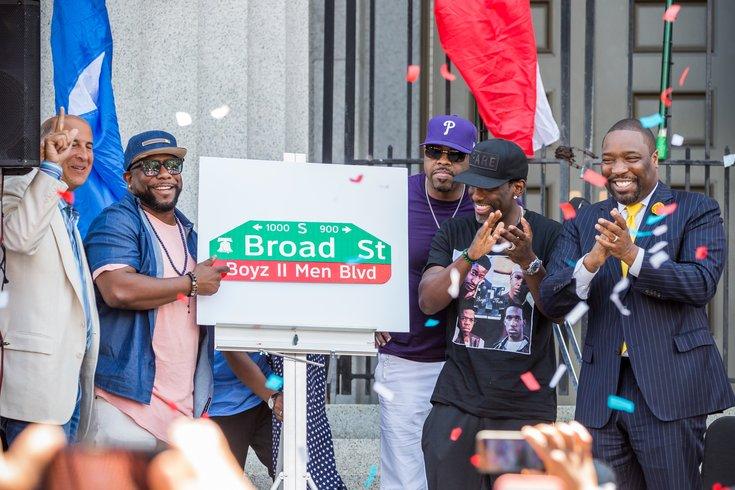 Carroll - Boyz II Men in Philadelphia