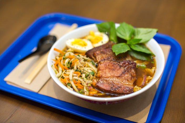 Carroll - The Philadelphia Bourse Mi & Yu Noodle Bar
