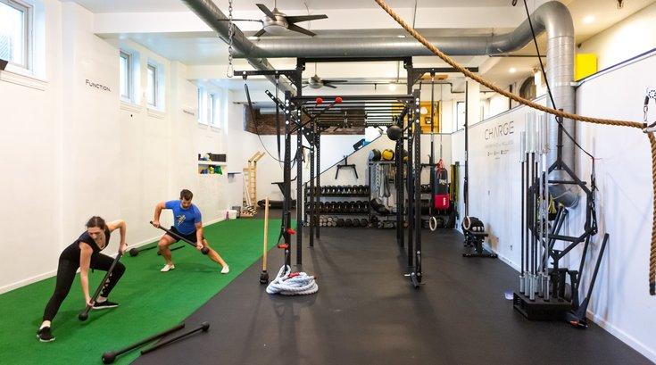 Carroll - Charge mace training