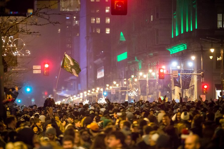 Carroll - Eagles' Super Bowl Win Celebrations and Destruction