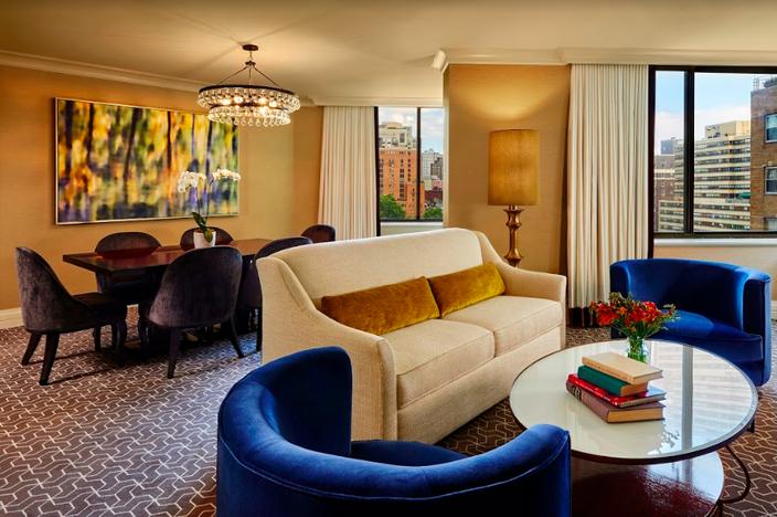 Rittenhouse Hotel's Rittenhouse suite
