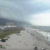 Ocean City shelf cloud