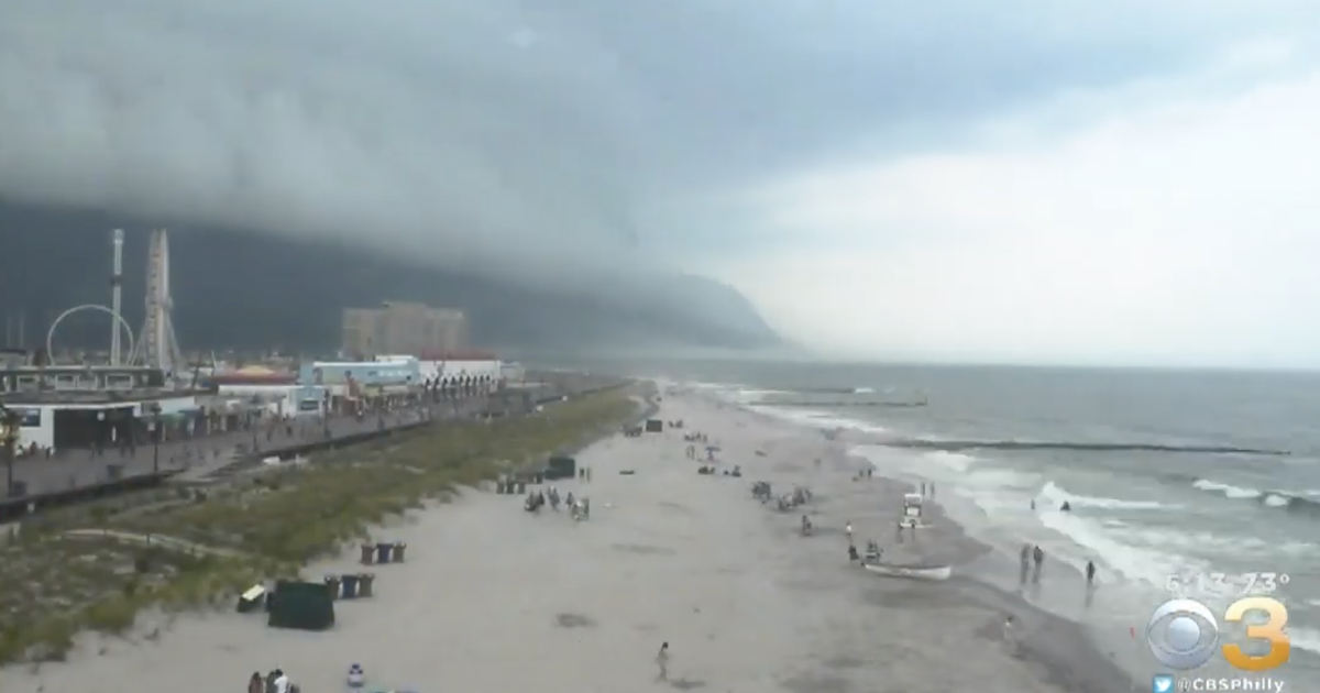 Time-lapse video captures shelf cloud passing over Ocean City - EpicNews