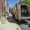 Philadelphia trash recycling collection