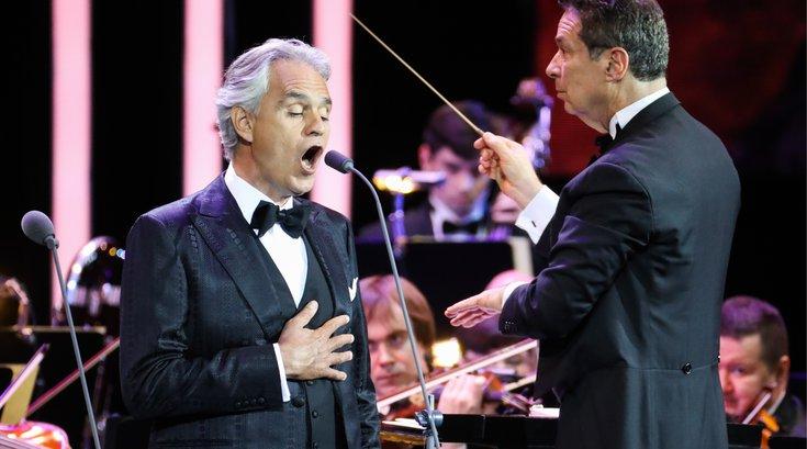Andrea Bocelli Easter concert
