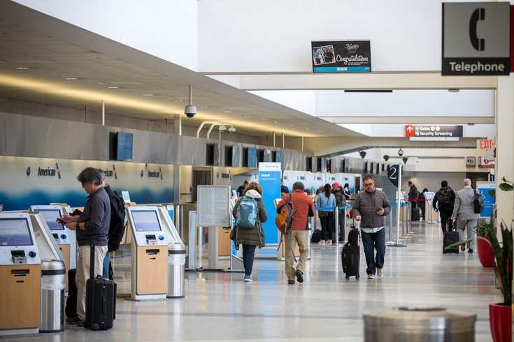 PHL airport Germany Canada
