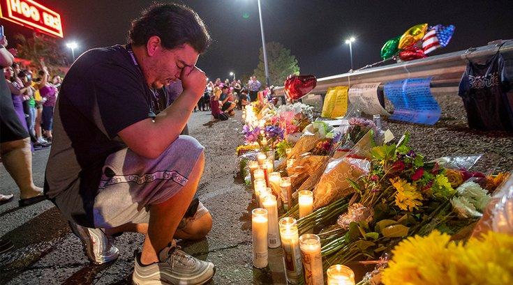 El Paso Mass Shooting Vigil 08052019