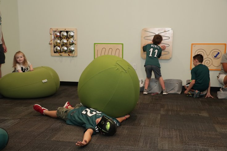 eagles sensory room