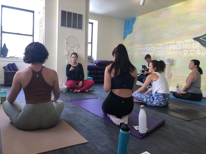 New Manayunk Yoga Studio Aims To Tackle Mental Health Substance Abuse Phillyvoice
