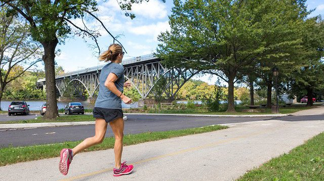 Stress fractures female runners
