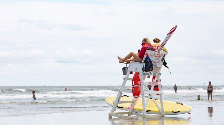 Wildwood Beach Patrol rescue